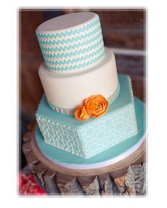 Cake Decorating Zig Zag : Chevron Zigzag Stripe Parties on Pinterest Chevron ...