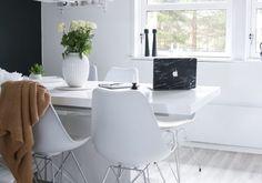 Spisebord - DIY   HVITELINJER Office Desk, Diy, Furniture, Home Decor, Desk Office, Decoration Home, Desk, Bricolage, Room Decor