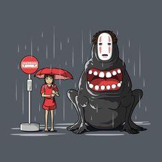 El viaje de Chihiro- Mi vecino Totoro