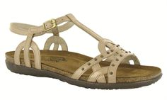 54514381b6be Naot Women s Elinor Sandal-The Elinor is gladiator-inspired sandal with a  buckle strap and backstrap for added stability and support.