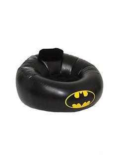 Buy DC Comics Batman Inflatable Chair - 195663 at Wish - Shopping Made Fun Batman Love, Batman Stuff, Batman Art, Batman Robin, Nananana Batman, Inflatable Chair, Batcave, Dark Knight, Harley Quinn