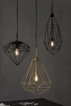 76 Industrial Decor Ideas - From Industrial Hanging Pendants to Wooden Concrete Lighting (TOPLIST).  Lampshades!!! (Y)