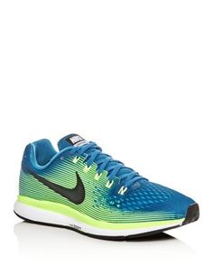 NIKE Men'S Air Zoom Pegasus 34 Lace Up Sneakers. #nike #shoes #sneakers