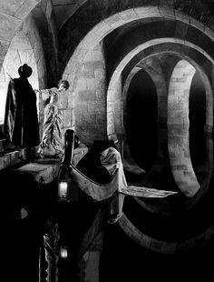 Lon Chaney & Mary Philbin inThe Phantom of the Opera (1925, dir. Rupert Julian)