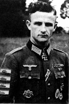 Hauptmann Ferdinand Frech (04 March 1920 - 25 January 1945) Knights Cross of the Iron Cross on 5 December 1943 as Oberleutnant Chief of the 1./Jäger-Bataillon 2