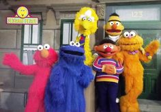 The Sesame Street Gang (Sesame Place PA