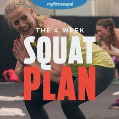 The 4-Week Squat Plan