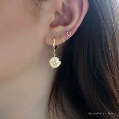 2 line 20gauge Spiral Vine Ear cuff cartilage earring//Please select an option. Type B Ear Jacket Ear Wrap