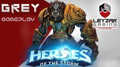 Heroes of the Storm (Gameplay) - Greymane Wolf Build (HotS Greymane Game...