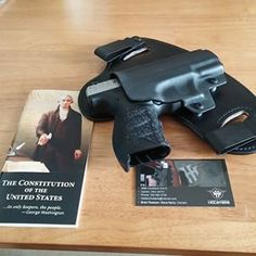 "Brian @theworldofbri says: ""I love coming home to unexpected packages on the doorstep! Great touch with the literature, thank you!"" #hiddenhybridholsters #2a #ccw #iwb #owb #igmilitia #photooftheday #constitution #concealedcarry #alwaysready #merica #madeinusa"