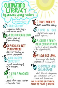 Cultivating Literacy #infographic