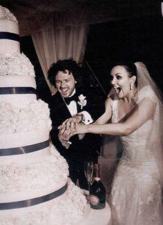 Martine McCutcheon's wedding on Lake Como by Leoeventi 2012 Real Couples, Celebrity Couples, Celebrity Weddings, Star Wedding, Wedding Bride, Wedding Cake, Destination Weddings, Real Weddings, African American Weddings