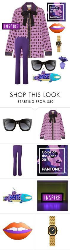 """""""Inspire"""" by hkristen on Polyvore featuring Gucci, Emilio Pucci, But Another Innocent Tale, Piaget e BCBGMAXAZRIA"""