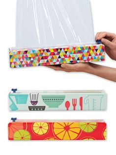 Chic Wrap - Plastic Wrap Cutter - Plastic Wrap Dispenser | Solutions.  I want this.  I really do.