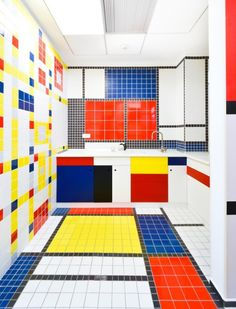 Colorful Office, ING Bank Offices by Corvin Cristian