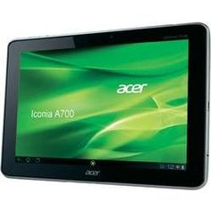 "cer Iconia A700 Internet Tablet 32GB WiFi 25,65 cm (10,1"" "") zilver met Android 4.1 Jelly Bean Upgrade"