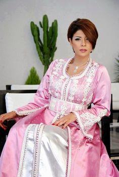 caftan marocain rose très chic mode 2016