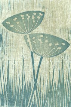 chine colle linocut - Google Search Stencil Painting, Fabric Painting, Stamp Printing, Screen Printing, Linocut Prints, Art Prints, Block Prints, Flora Und Fauna, Creative Textiles
