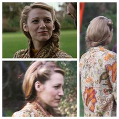 'The Age of Adaline' Hair 1940s Hairstyles Short, Side Bun Hairstyles, Romantic Hairstyles, Work Hairstyles, Vintage Hairstyles, Wedding Hairstyles, Wedding Updo, Updo Hairstyle, Blake Lively