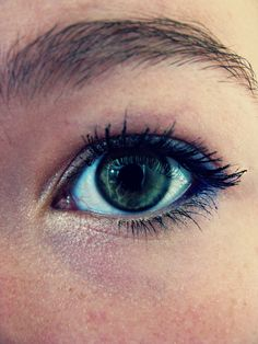 Eye make up done by me! :)