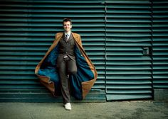 The Nerdy Girlie: Cosplay Crush: Matt Holden as the Tenth Doctor