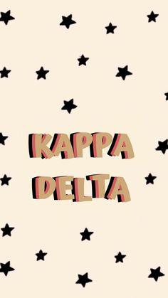Kappa Delta Crafts, Kappa Delta Sorority, College Sorority, Sorority Canvas, Alpha Sigma Alpha, Sorority Recruitment, Sorority Life, Theta, Kappa Delta Canvas