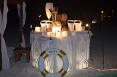 Beach Party Sponsored by Moet Champagne
