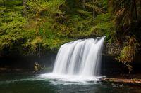 Upper Butte Creek Falls (near Silverton, Oregon)