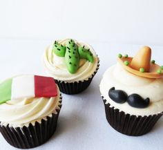 cactus cupcakes | Ideas de cupcakes para estas fiestas patrias