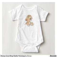 Disney Lion King Simba Yawning Shirt