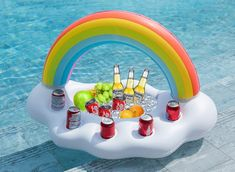 Rainbow Drink Float - Drink Holders - Pool Party Gifts