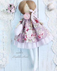Angel in flowered dress Tilda style doll  Handmade Textile interior doll 30cm | Dolls & Bears, Dolls, Art Dolls-OOAK | eBay!