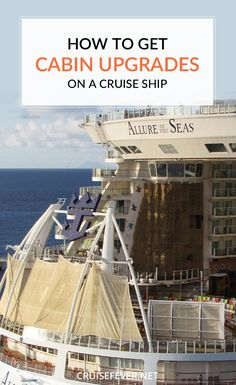 If you want to get a free cabin upgrade on your next cruise you might be disappointed. But this doesn't mean you can't get an upgrade for cheap.