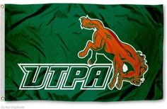 UTPA Broncs Flag measures 3x5 feet, is made polyester, has quadruple stitched flyends, a canvas side header with two metal grommets, and the NCAA college...
