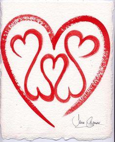 Jane Seymour Open Heart Ring Love Peace