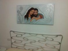 """"""" Una dolce famiglia"""",olio su tela, 60-120 cm, 2014"""