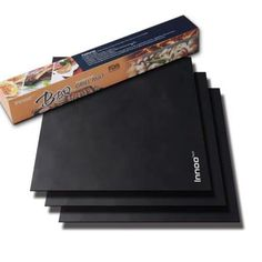 BBQ Grill Mats Up to Thicker Than Others Set of x Works on Gas, Charcoal, Electric Grill and more, Non-stick, Lifetime Guaranteed Bbq Grill, Barbecue, Cooking Tools, Outdoor Cooking, Yummy Treats, Charcoal, Patio, Electric, Lava