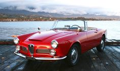Can't help it folks, I just loved this car and its' sister 2000 and drove them all over the Midwest, Southeast and California. Then my daughter took it to college and it was in every parade, at every picnic/party, etc. How I wish I still had one or the other. Alfa Romeo 2600 Spider