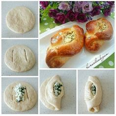 Baked Potato, Tea Party, Food And Drink, Bread, Cookies, Baking, Cake, Ethnic Recipes, Pane Pizza