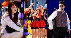 Universal Studios Japan Halloween, cosplay Thriller small young transvestites