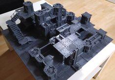 bowman's Necromunda Table 18 | YakTribe.games Game Terrain, 40k Terrain, Wargaming Terrain, Warhammer Games, Warhammer 40000, Necromunda Gangs, Tabletop, Warhammer Terrain, Game Workshop