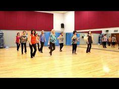 Hey Stranger - Line Dance (Dance & Teach in English & 中文) - YouTube