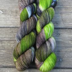 Uberraschung - Yummy 2-Ply - Babette | Miss Babs Hand-Dyed Yarns & Fibers, Inc.