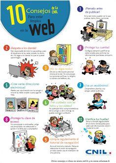 10 consejos de la CNIL para estar limpios en la Web - Martin Vidberg http://vidberg.blog.lemonde.fr/2015/08/28/les-10-conseils-pour-rester-net-sur-le-web/