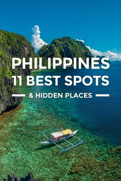 Philippines – 11 Best Tourist Spots & Hidden Places https://www.detourista.com/guide/philippines-best-places/ Where to go in the Philippines? Marcos shares the best places to visit for first-time travelers. See top tourist spots, beaches, islands, heritage, cities, nature, things to do & more.