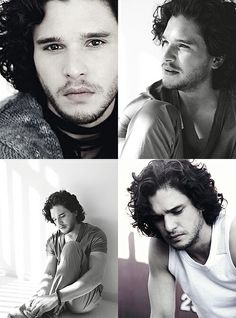 Kit Harington <3  Sorry for spamming lol. I just got into game of thrones and he is one of my favorite parts of that show. Damn damn damn.