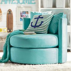 Round-About Chair // such a comfy seat!
