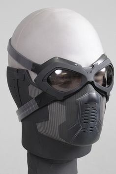 Airsoft hub is a social network that connects people with a passion for airsoft. Talk about the latest airsoft guns, tactical gear or simply share with others on this network Winter Soldier Mask, Winter Soldier Cosplay, Soldier Costume, Armadura Cosplay, Armor Concept, Body Armor, Tactical Gear, Survival Gear, Mask Design