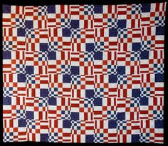 Last year I made a Placid Curves quilt based on a pattern in Amy Ellis' Modern Neutrals book for a Quilt of Valor. This year, our local q. Flag Quilt, Patriotic Quilts, Quilt Top, Quilt Blocks, Bright Quilts, Blue Quilts, Quilting Tutorials, Quilting Projects, Quilting Ideas