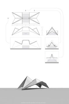 7 Neat Clever Tips: Metal Roofing Colonial origami roofing architecture.Different Roofing Styles. Architecture Pliage, Architecture Origami, Roof Architecture, Architecture Diagrams, Theater Architecture, Architecture Portfolio, Architecture Details, Folding Structure, Roof Structure